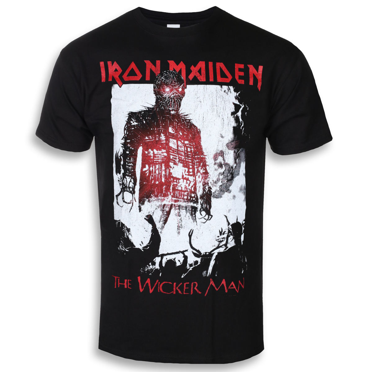 ROCK OFF Iron Maiden The Wicker Man Smoke černá