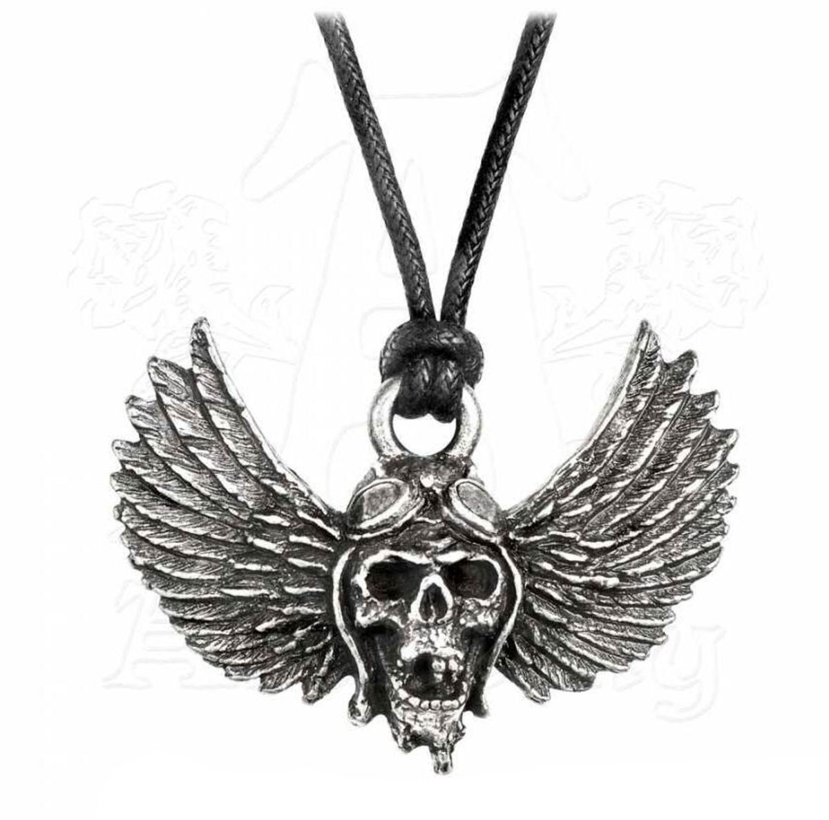 obojek Airbourne - SkullWings - ALCHEMY GOTHIC - PP513