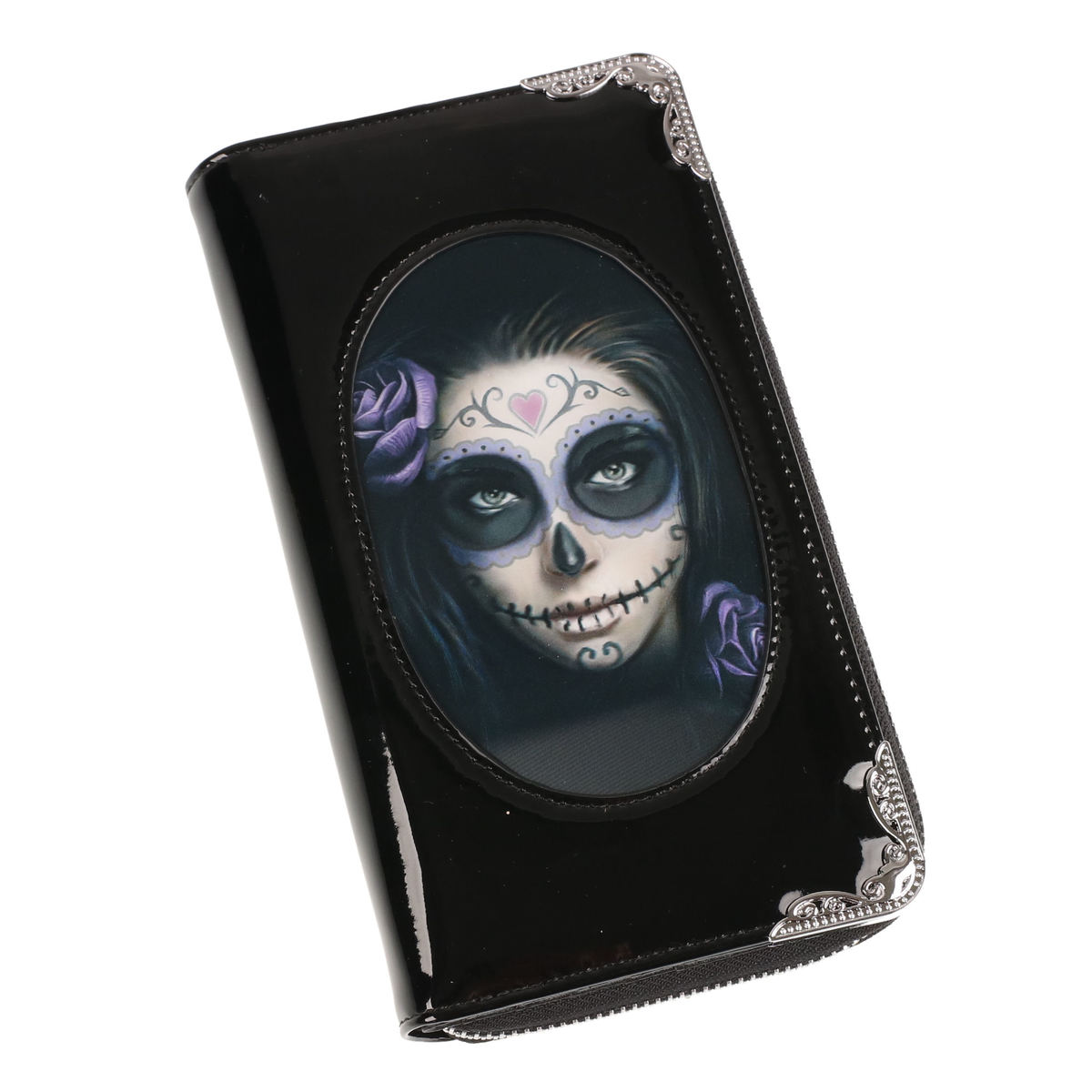peněženka ANNE STOKES - Day Of The Dead - Black - AS006