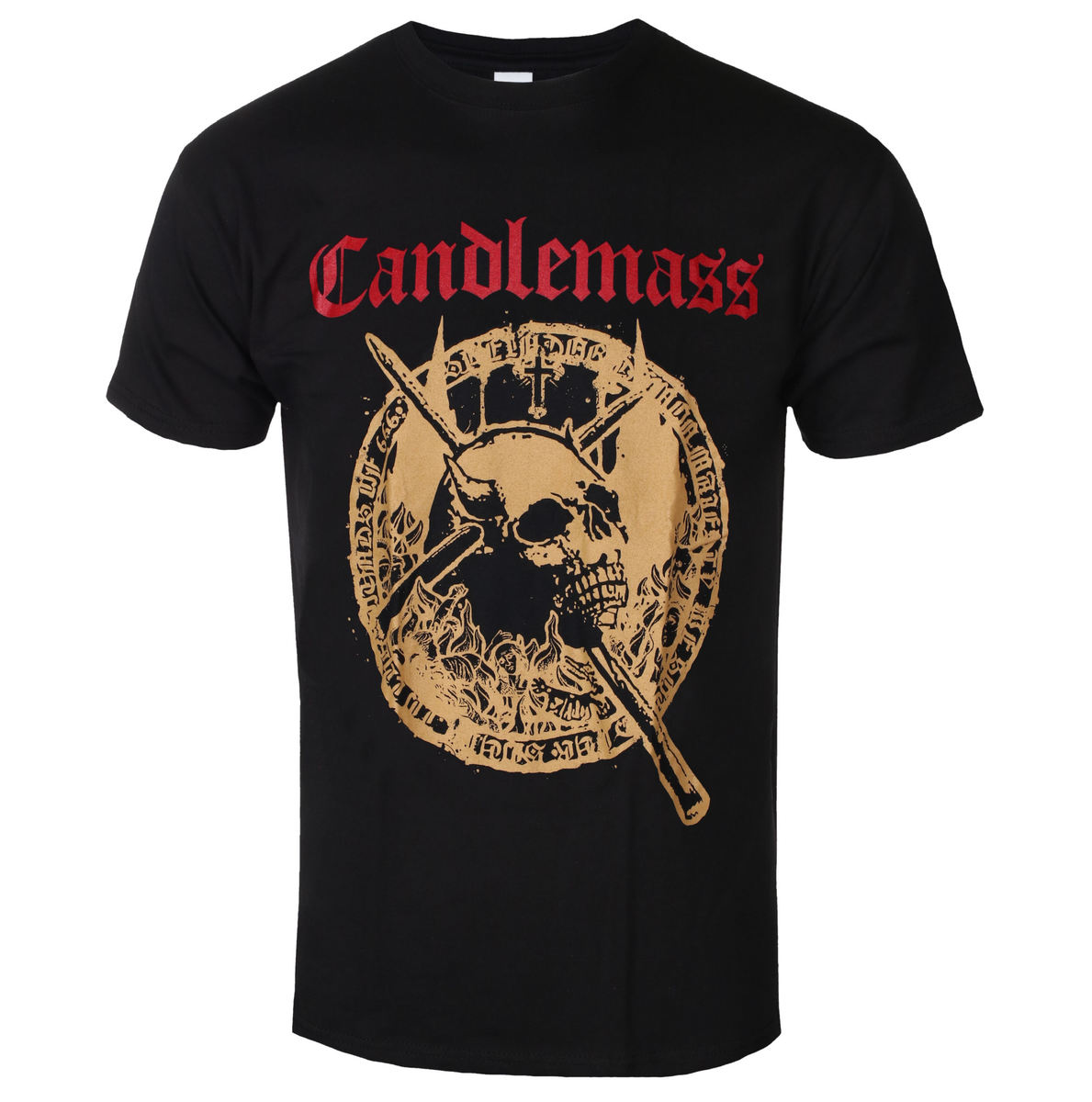 NAPALM RECORDS Candlemass The Door To Doom černá