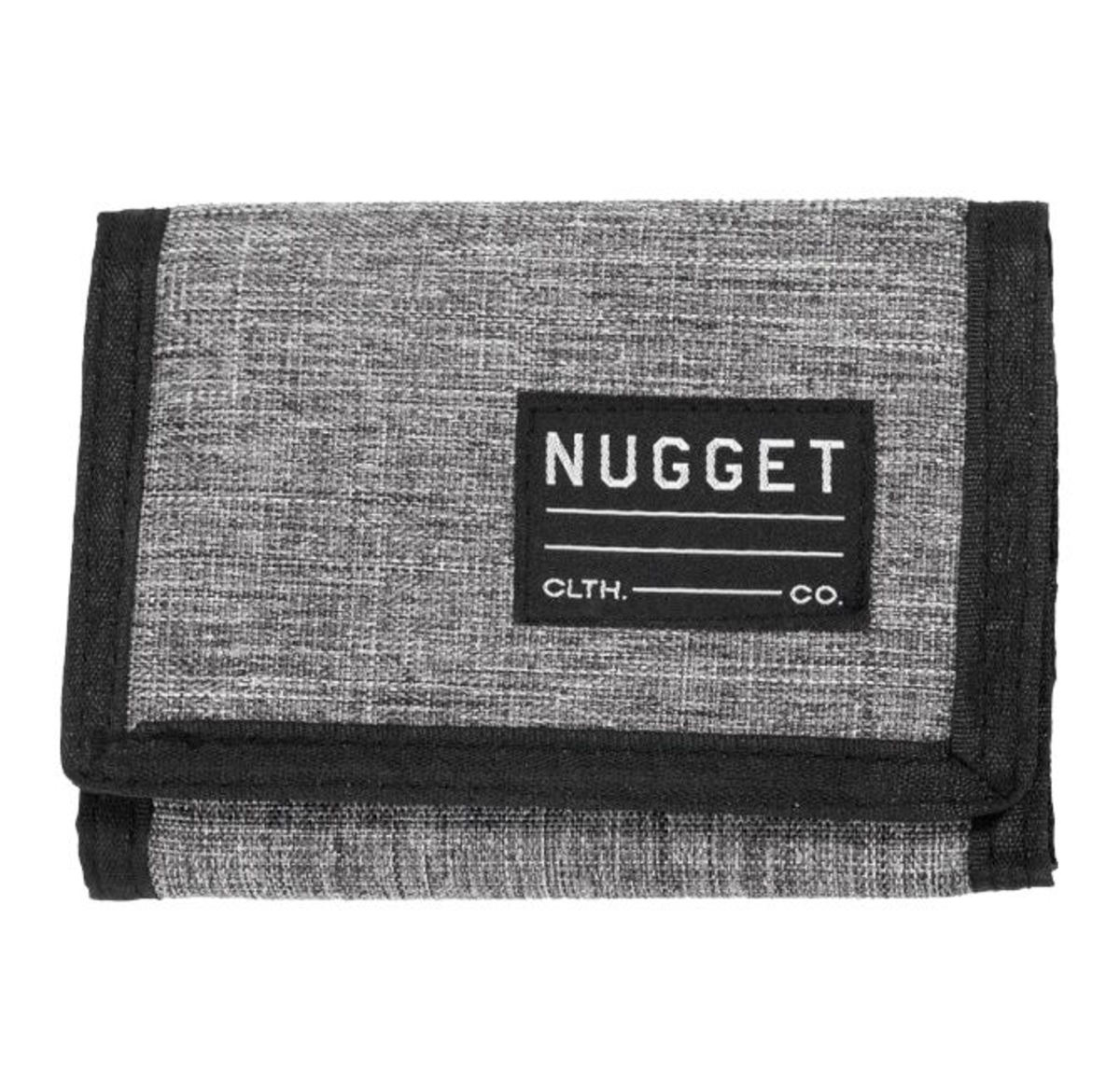peněženka NUGGET - EVERLONG - B - 12638 - Heather Grey Black - MEAT212
