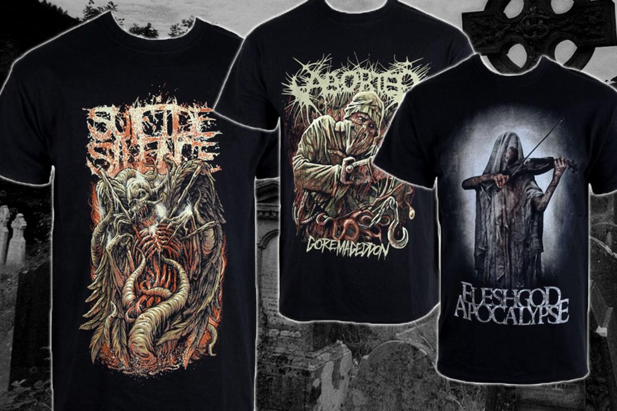 zvýhodněná kolekce triček black/death