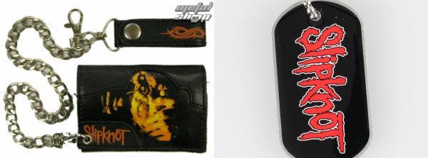 Balíček Slipknot - peněženka a psí známka