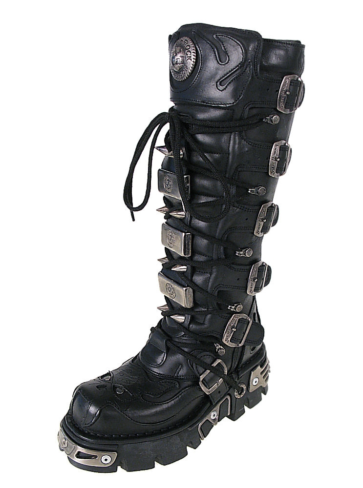 boty NEW ROCK - High Vampire Boot (161-S1) Black
