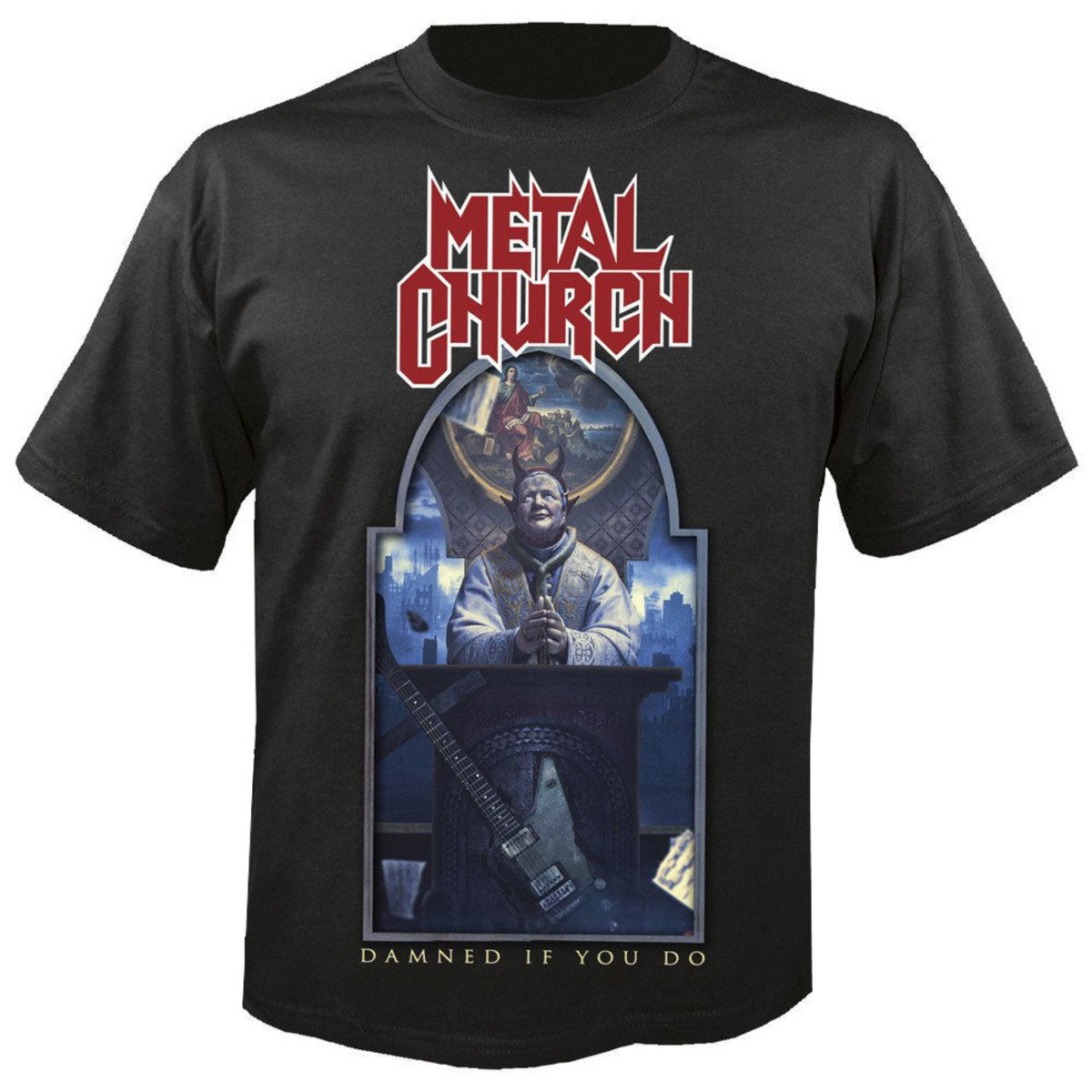 tričko pánské METAL CHURCH - Damned if you do - NUCLEAR BLAST - 27483_TS