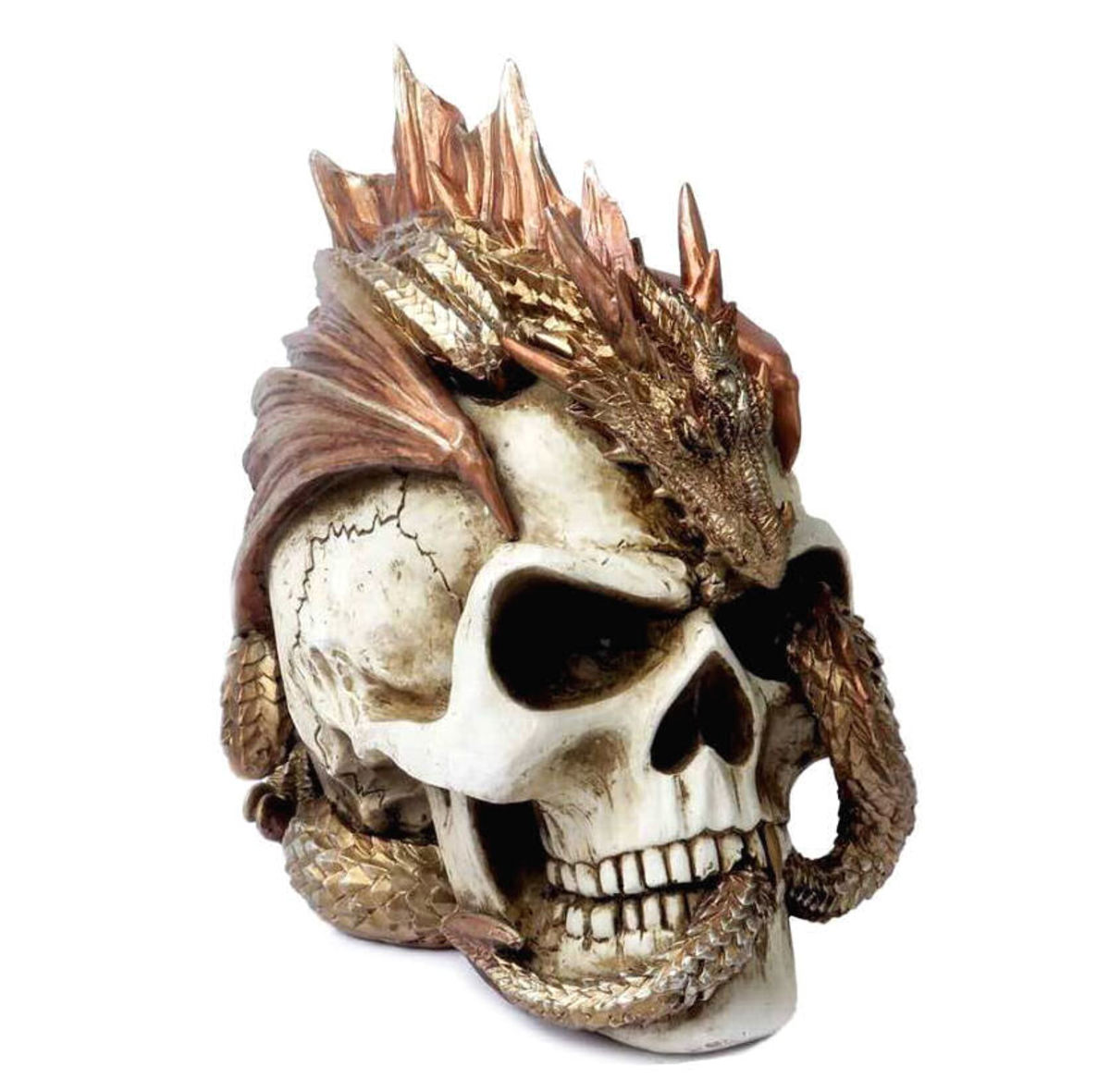 dekorace ALCHEMY GOTHIC - Dragon Keepers Skull - V72