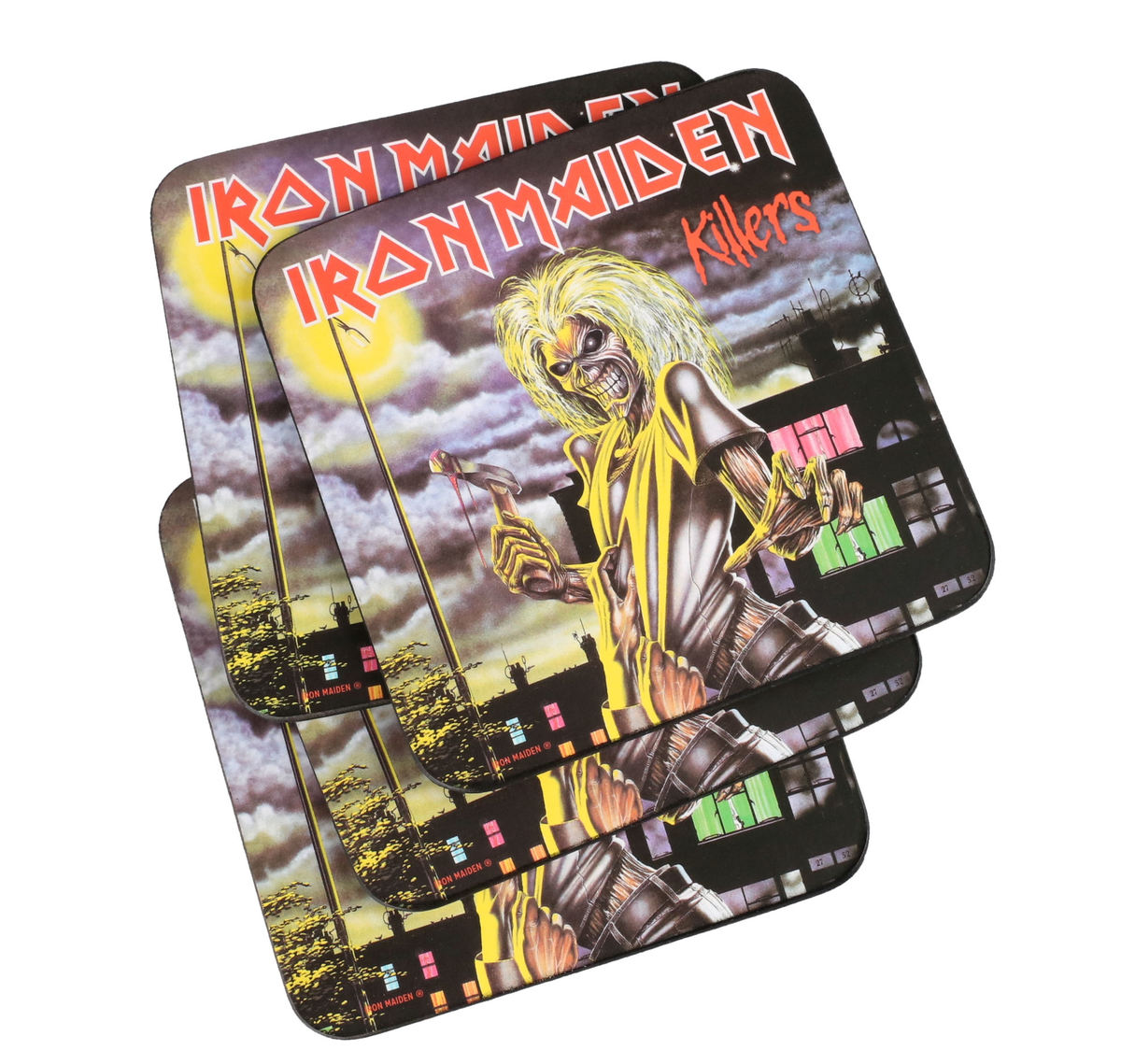 podtácky IRON MAIDEN - ROCK OFF - CURP003