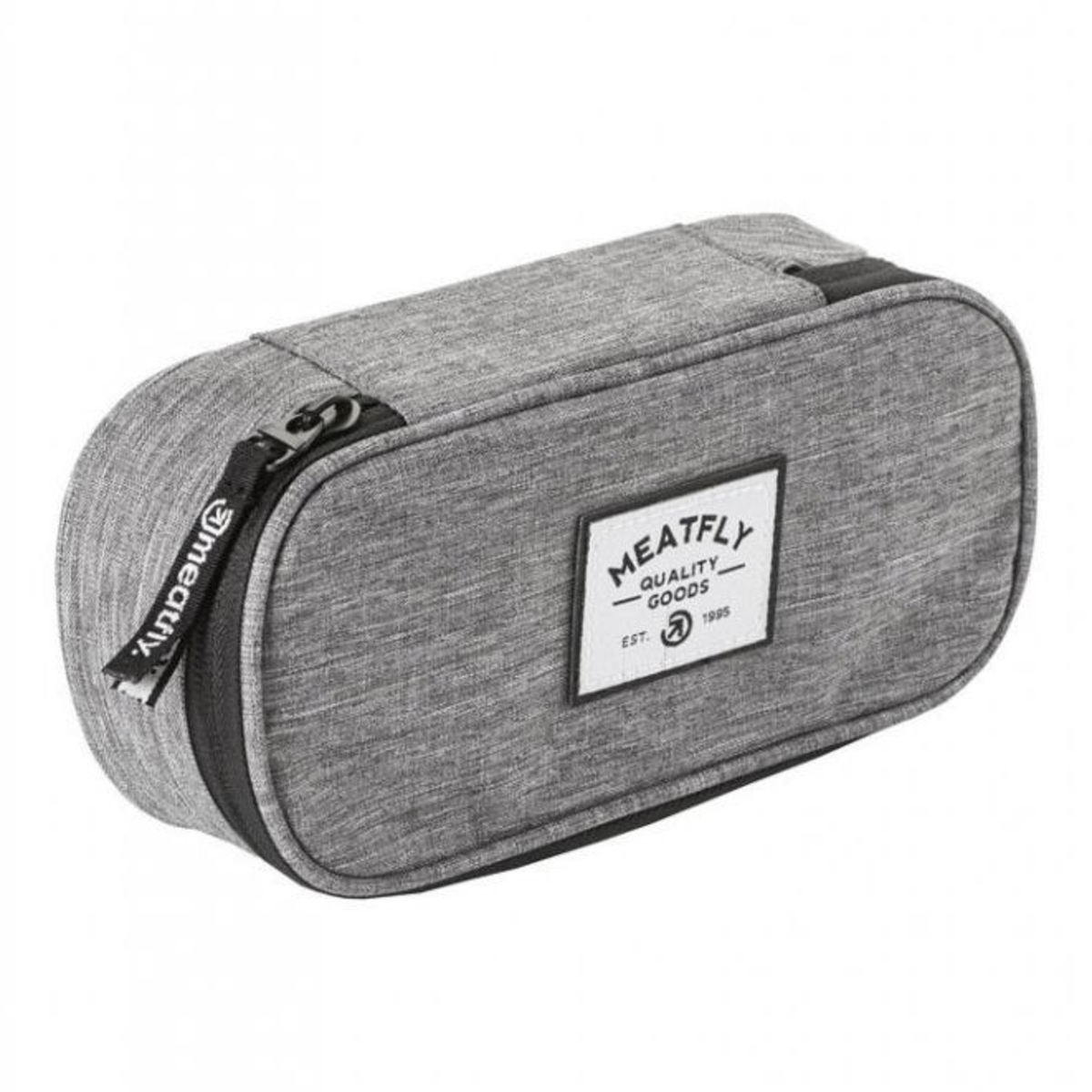 pouzdro (penál) MEATFLY - D - Heather Grey - MEAT153