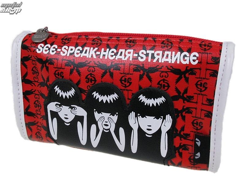taška , kabelka EMILY THE STRANGE - Emily (E3081407) See Speak Hear Strange Make Up Case