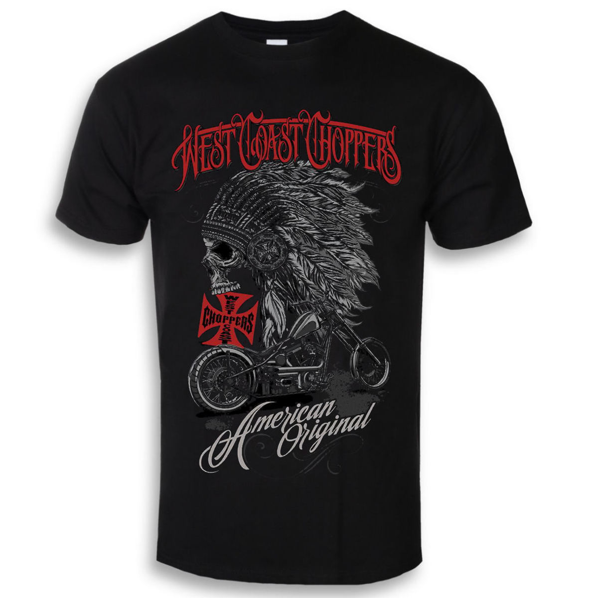 West Coast Choppers Solid Black černá