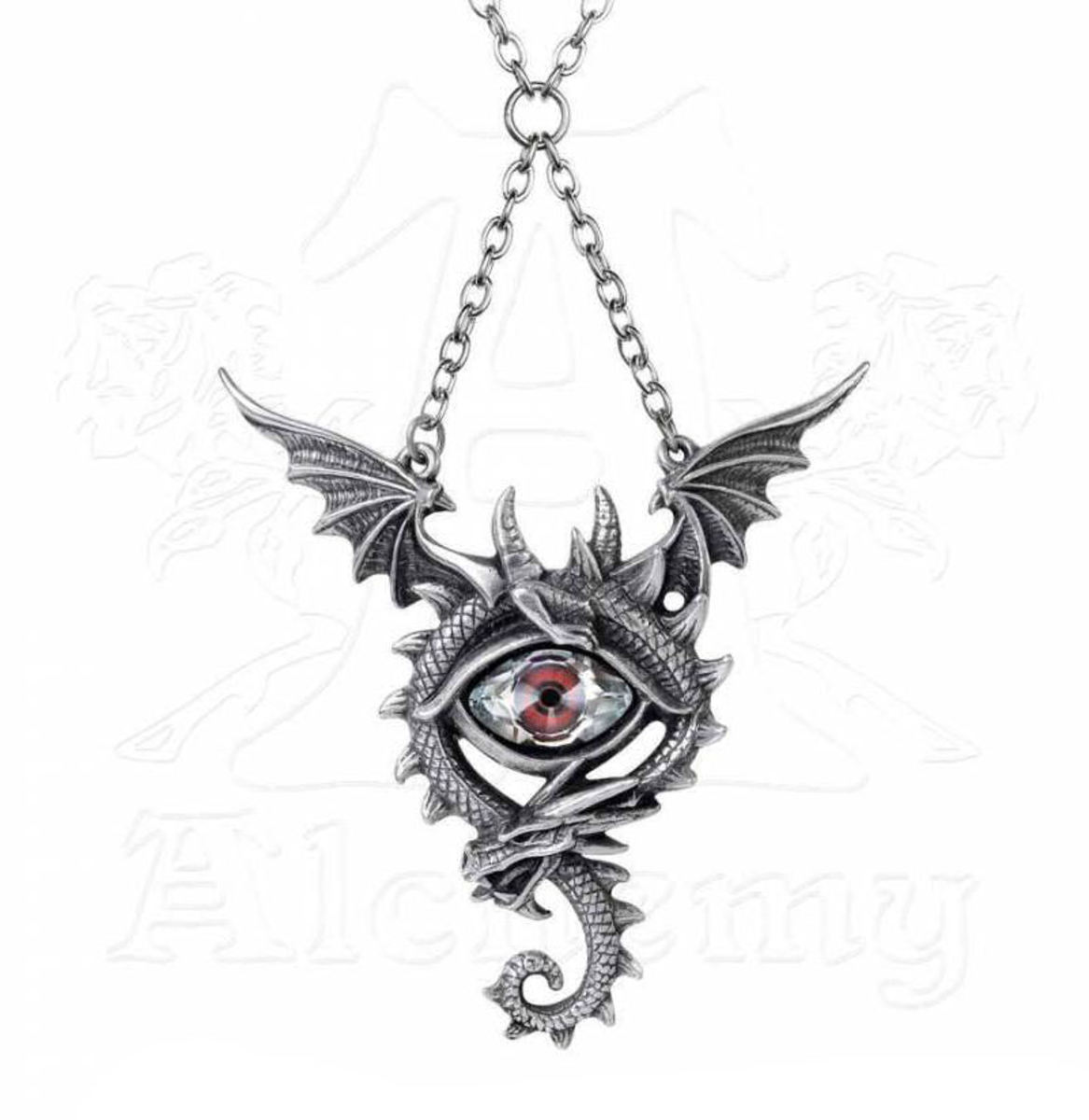 obojek ALCHEMY GOTHIC - Eye Of The Dragon - P832