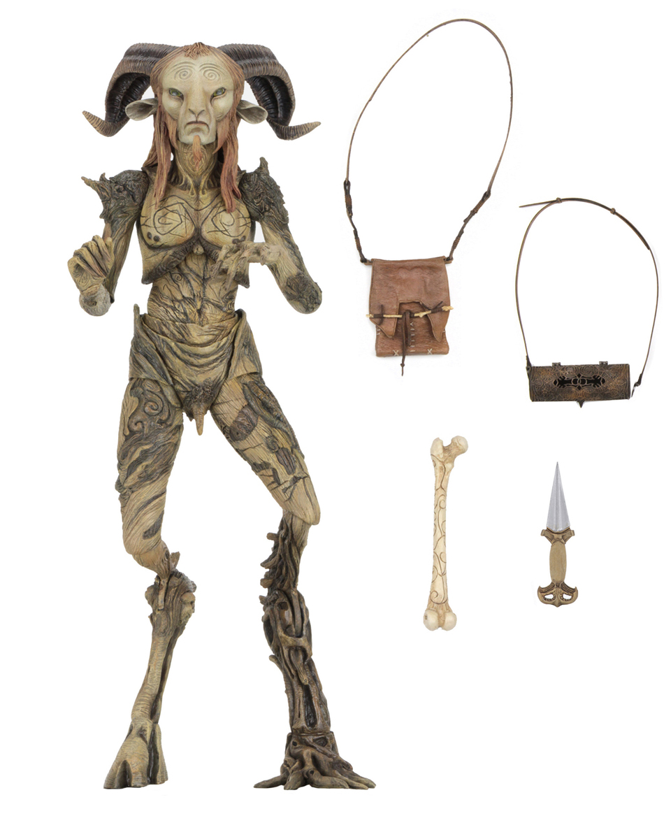 figurka Guillermo del Toro - Signature Collection - Faunův labyrint - Faun (Pans Labyrinth) - NECA33153