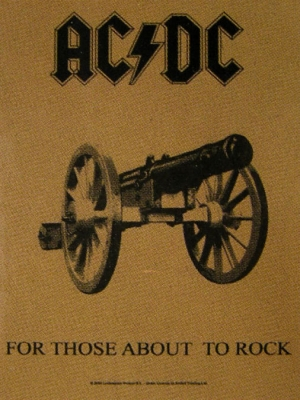 vlajka ACDC - For Those About To Rock - HFL0719