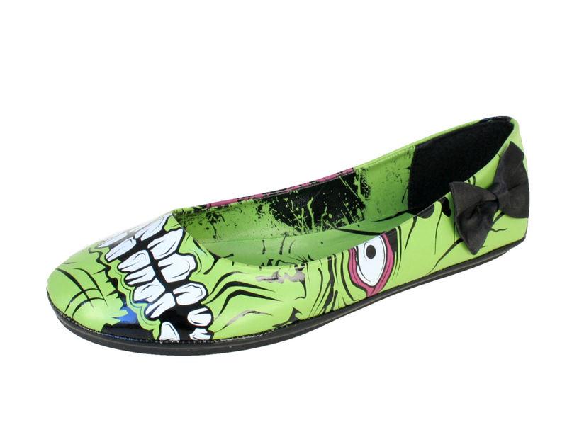 boty dámské IRON FIST - Zombie Stomper Flat IFL10859 - Monster green