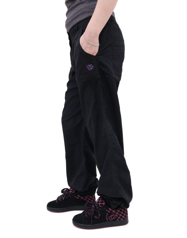 kalhoty dámské -šusťáky- FUNSTORM - Junta - 21 BLACK