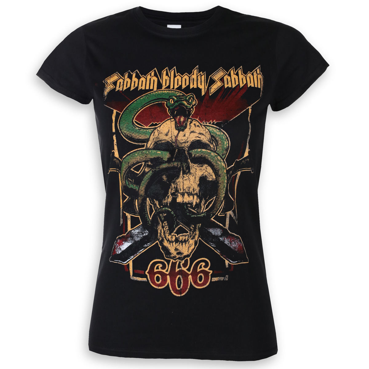 tričko dámské Black Sabbath - Bloody Sabbath 666 - ROCK OFF - BSTS32LB
