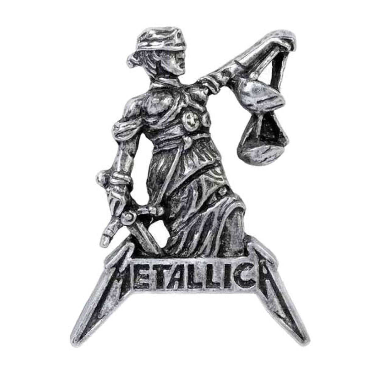 připínáček ALCHEMY GOTHIC - Metallica - Justice For All - PC513