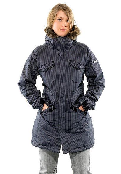 bunda dámská (kabátek) zimní NUGGET Nadine, A - BLACK and OCEAN