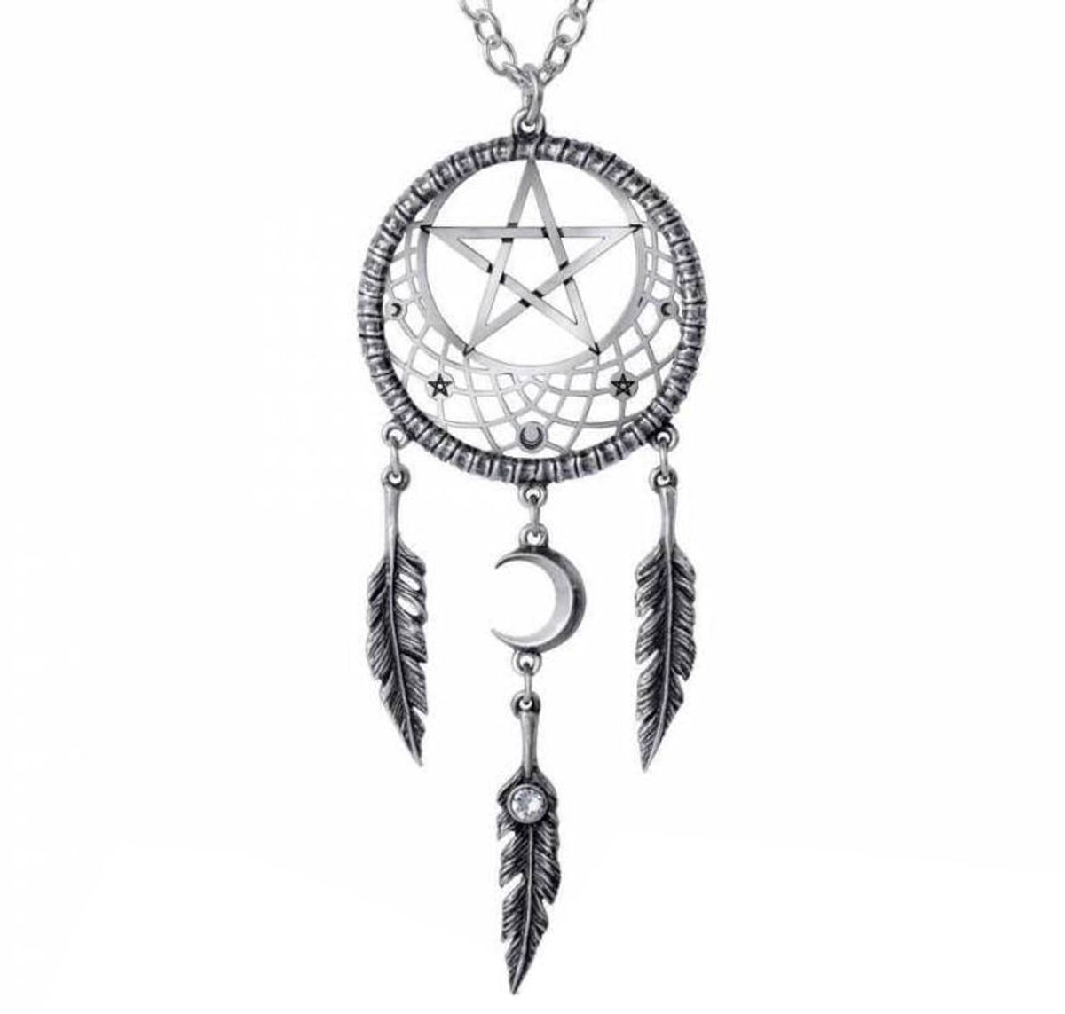 obojek ALCHEMY GOTHIC - Pagan Dream Catcher - P873