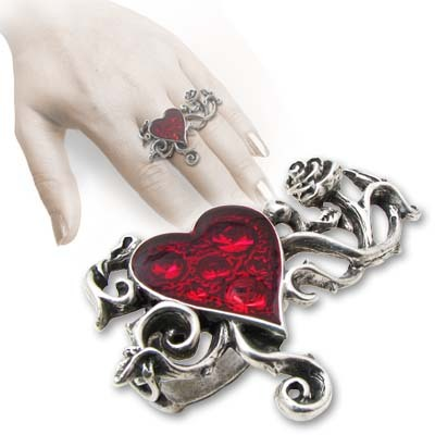 prsten Bed Of Blood Roses - ALCHEMY GOTHIC - R180 N