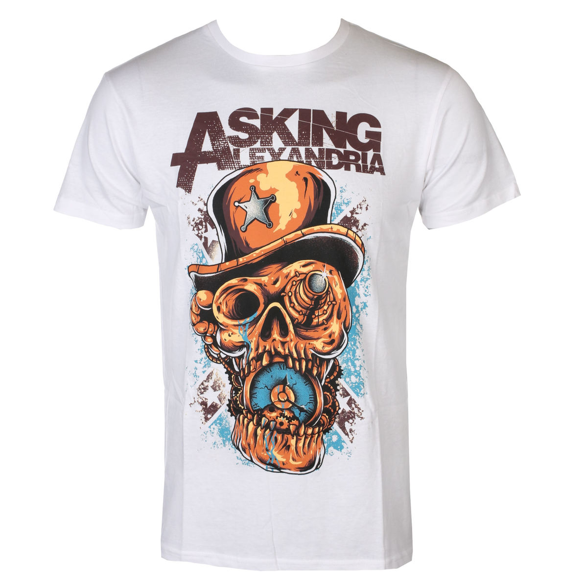 ROCK OFF Asking Alexandria Stop The Time černá