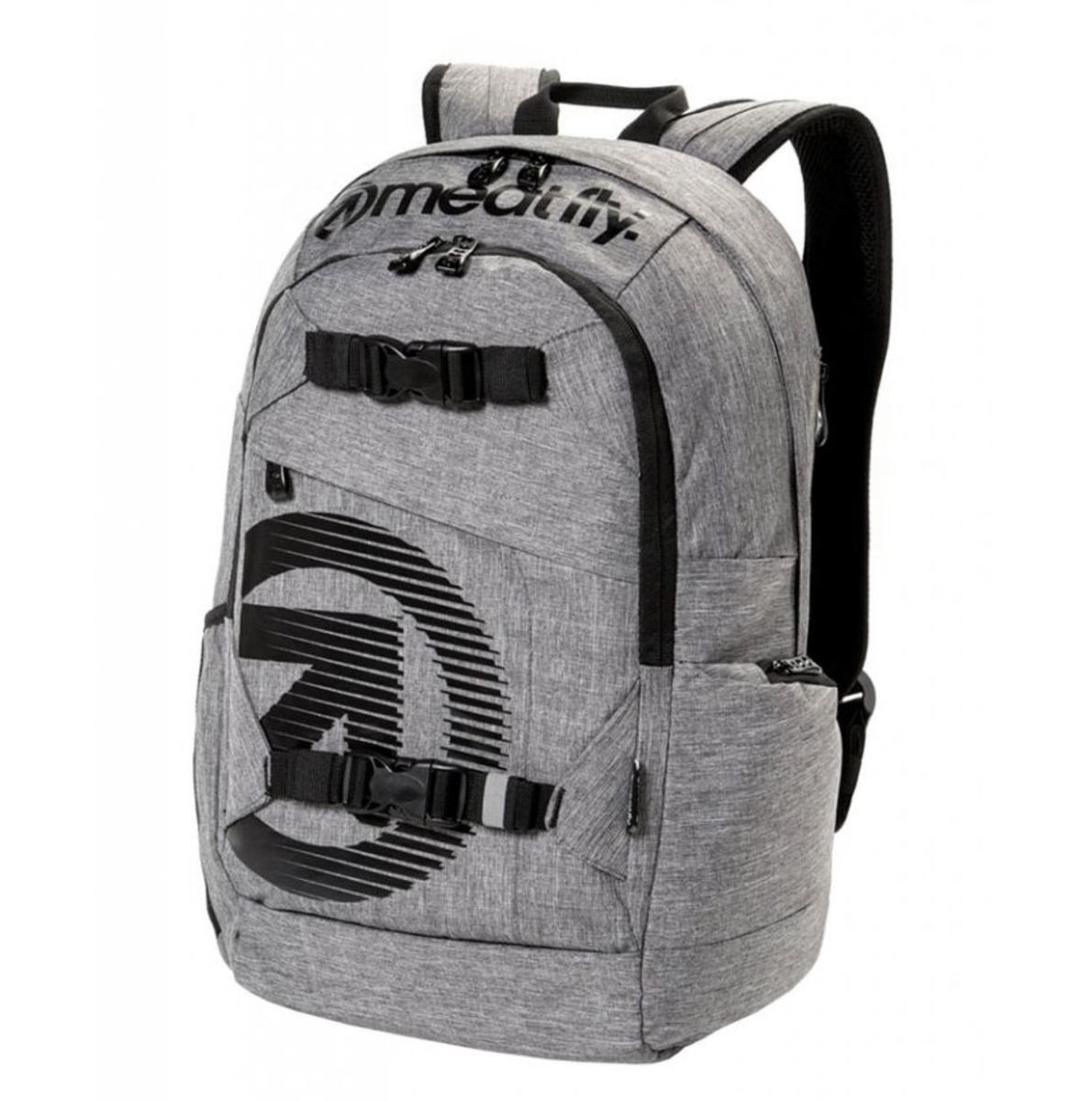 batoh MEATFLY - BASEJUMPER C - Heather Grey - MEAT155