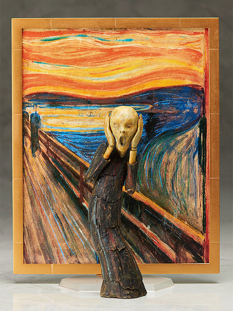 figurka The Scream - FREE29678