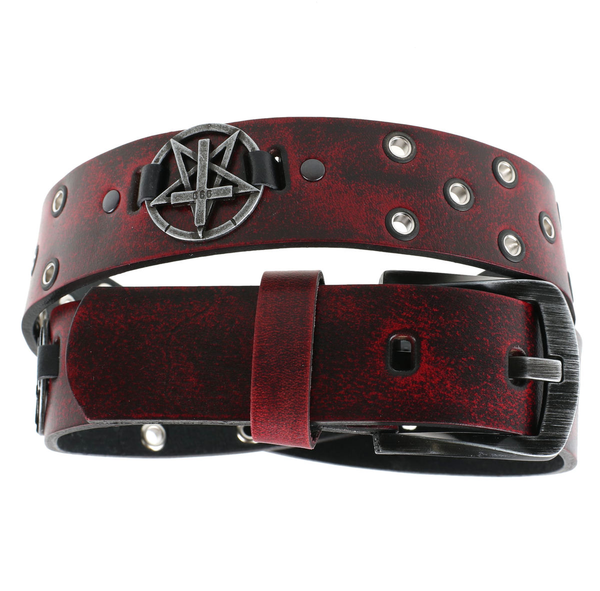 pásek Pentagram Cross - red - LSF2 21 100