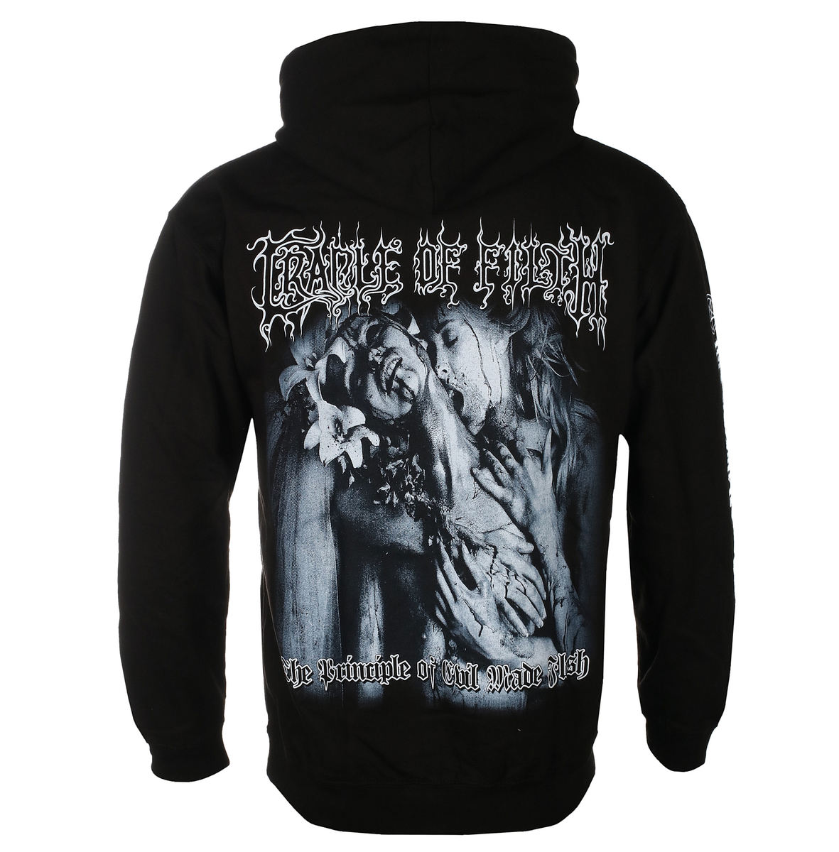 mikina s kapucí pánské Cradle of Filth - THE PRINCIPLE OF EVIL - PLASTIC HEAD - PH11563HSW
