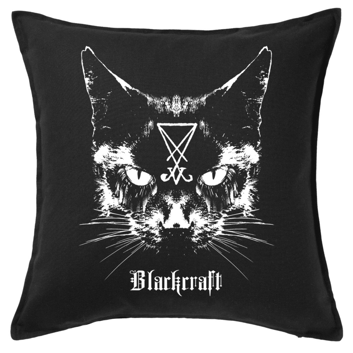 polštář BLACK CRAFT - Lucifer The Cat Throw - BT002LC