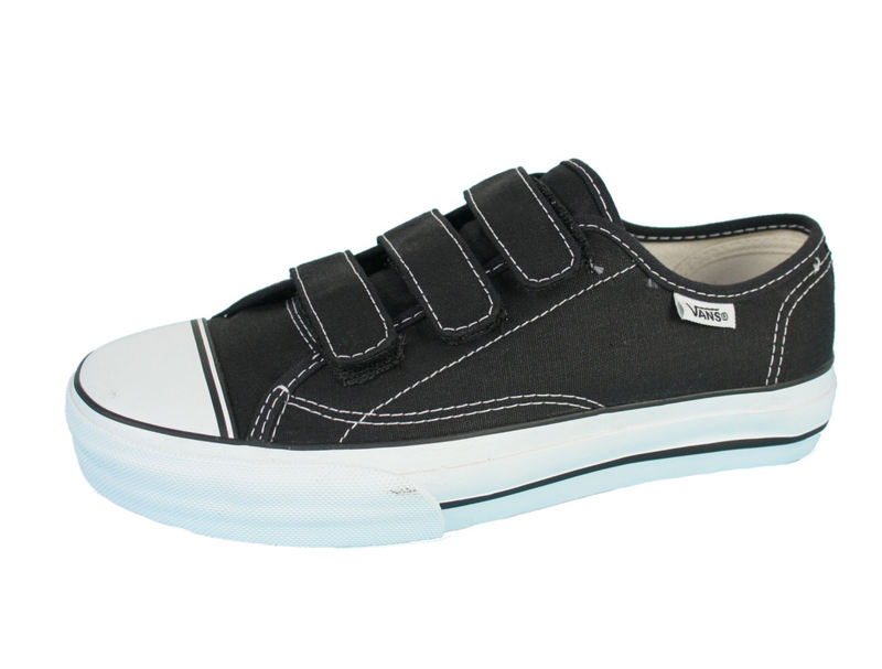 boty VANS - PrisonIssue - BLACK/WHITE