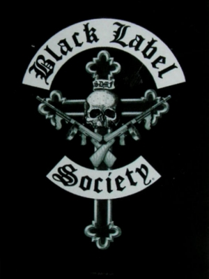vlajka Black Label Society - Crucifix - HFL0872