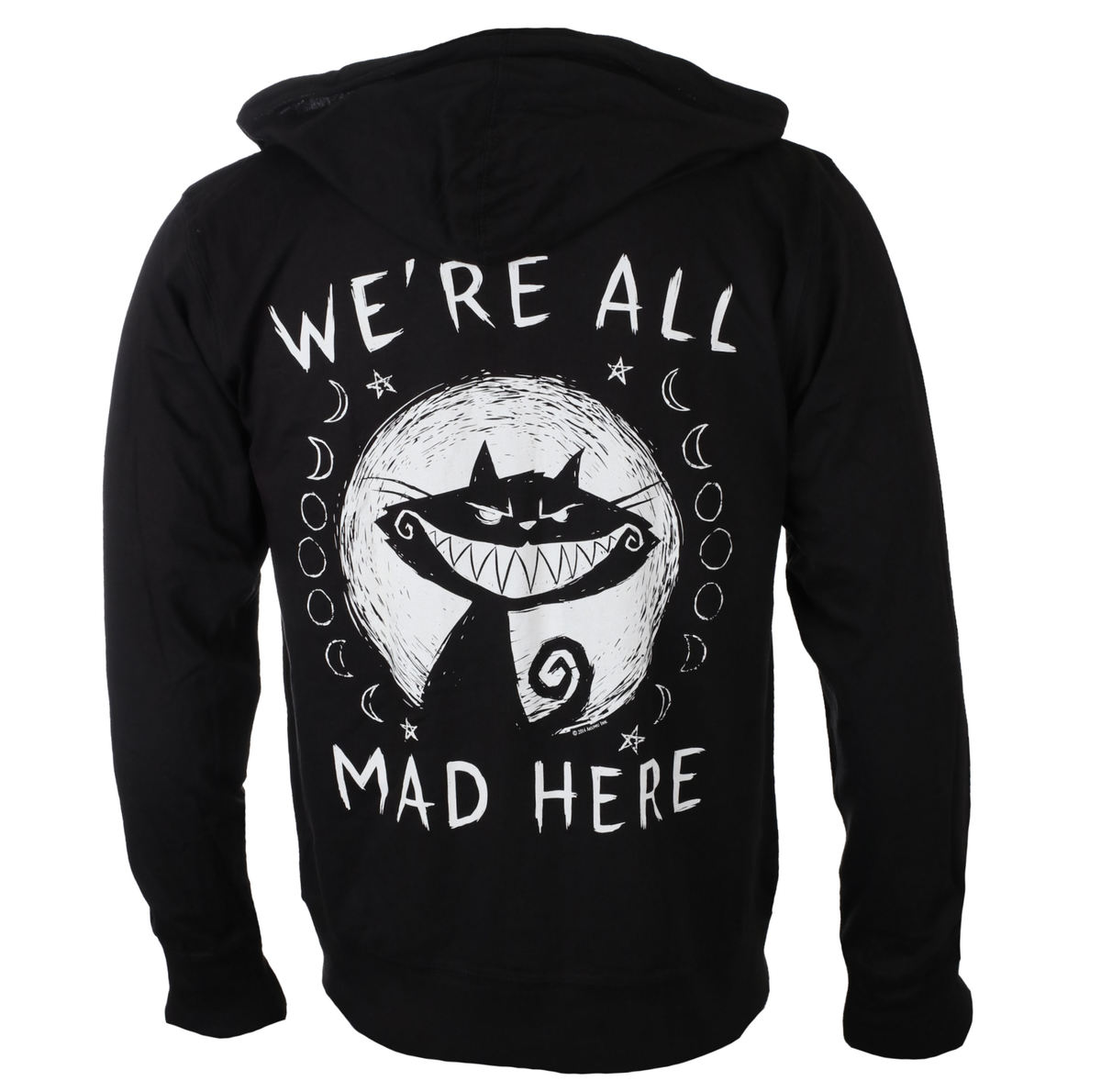mikina s kapucí unisex - We're All Mad Here - Akumu Ink - 9HM15