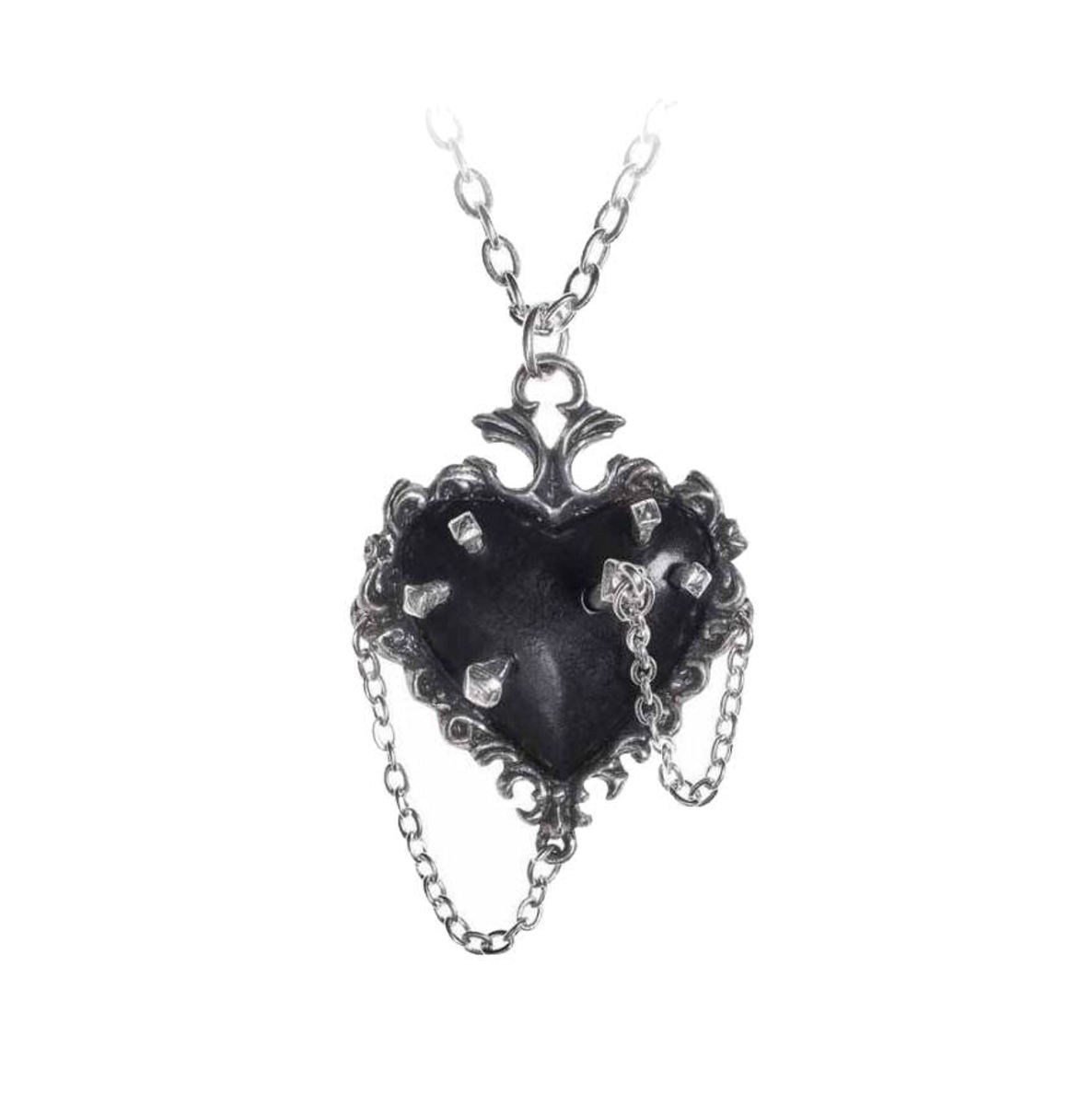 obojek ALCHEMY GOTHIC - Witches Heart - P855