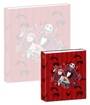 hrající notes Nightmare Before Christmas - Musical Notebook Jack & Sally - NBX27004