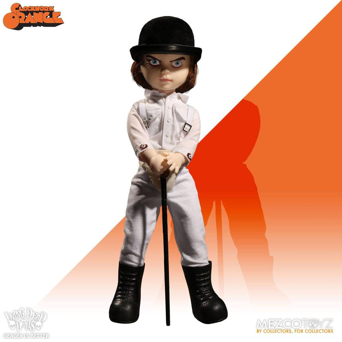 figurka A Clockwork Orange - Doll Showtime Alex - LIVING DEAD DOLLS - MEZ95090