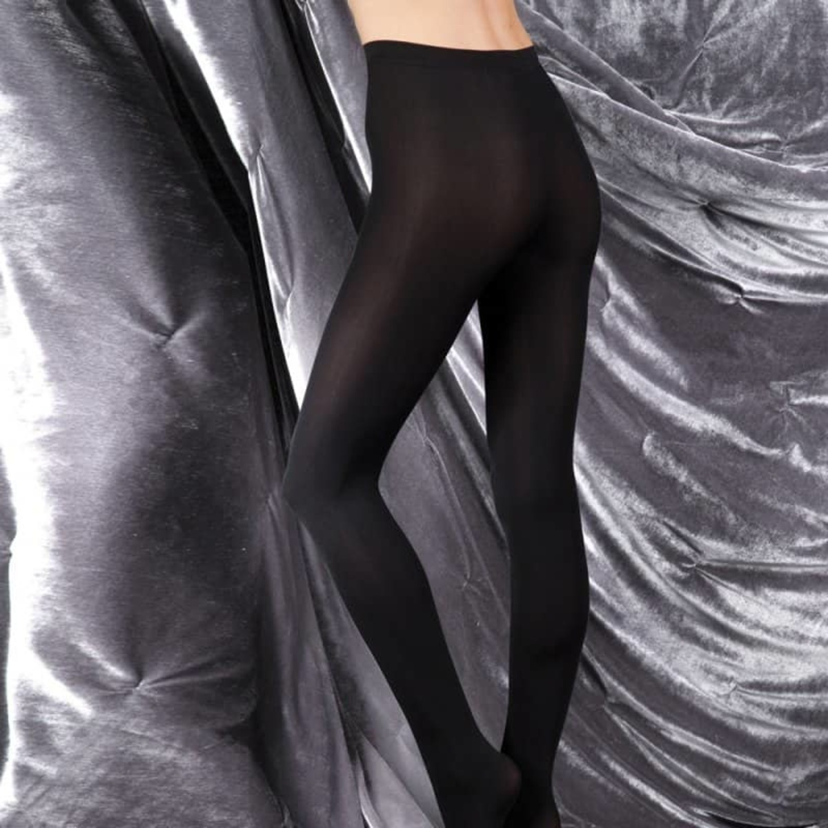 punčocháče LEGWEAR - couture ultimates - the sarah - black - CS0010