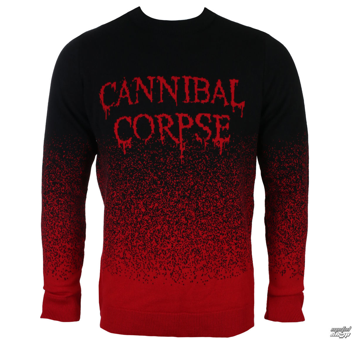 svetr PLASTIC HEAD Cannibal Corpse DRIPPING LOGO S