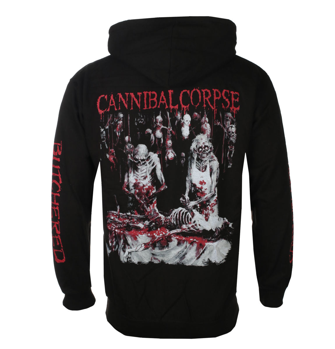 mikina s kapucí pánské Cannibal Corpse - BUTCHERED AT BIRTH - PLASTIC HEAD - PH11724HSWZ