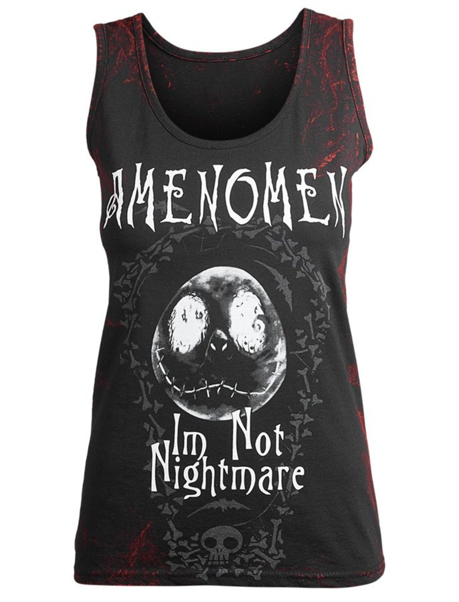 tílko dámské AMENOMEN - I´M NOT NIGHTMARE - RED - OMEN073DAR