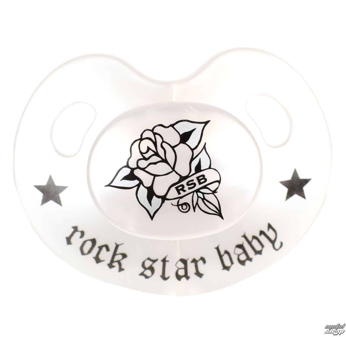 dudlík ROCK STAR BABY - Rose - 90224