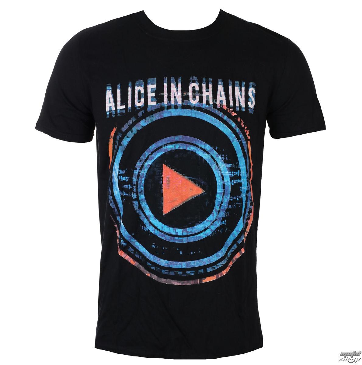 Levně Tričko metal ROCK OFF Alice In Chains Played černá XL