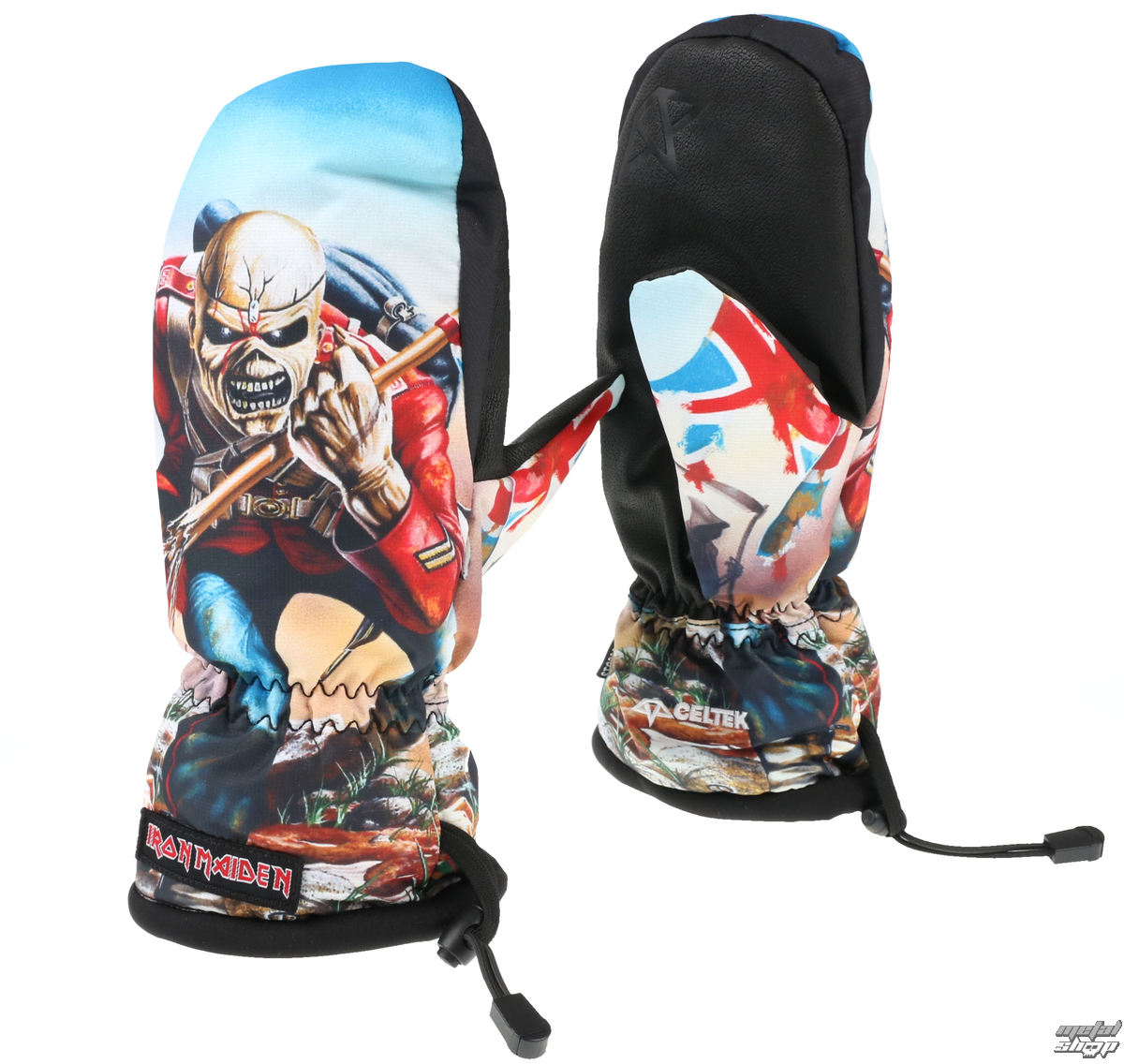 rukavice Iron Maiden - Trooper - CELTEK - 10034982 S