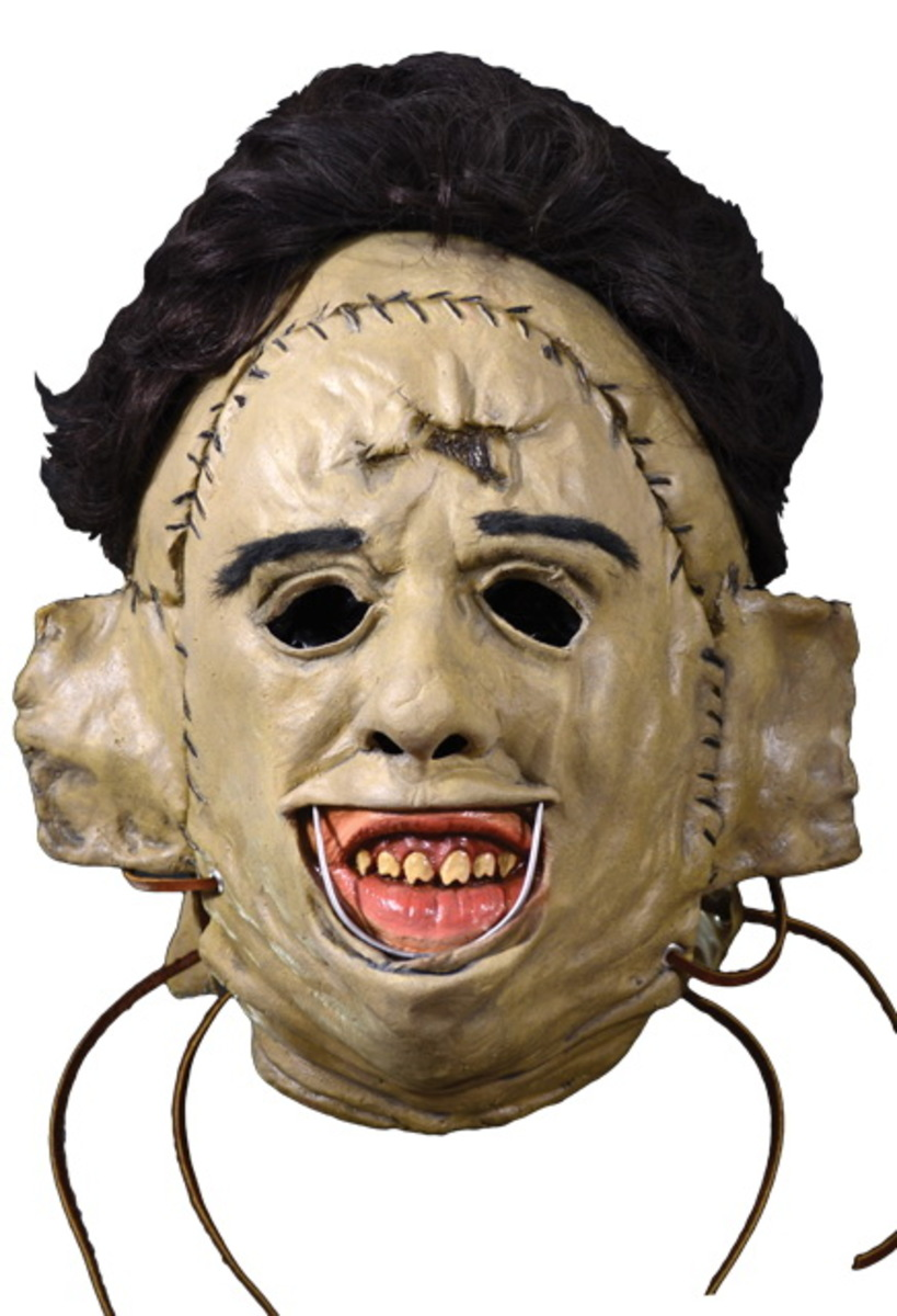 maska Texaský masakr motorovou pilou Mask - Adults Latex - 1974 - 52431-0