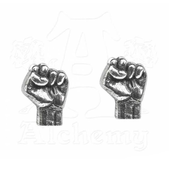 náušnice Rage Against The Machine - Fist - ALCHEMY GOTHIC - PE7