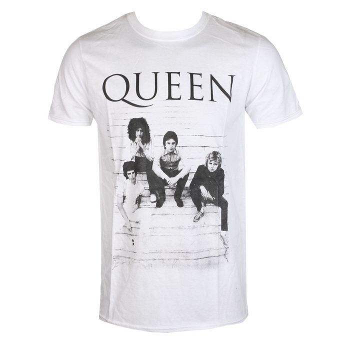 tričko metal ROCK OFF Queen Stairs černá L