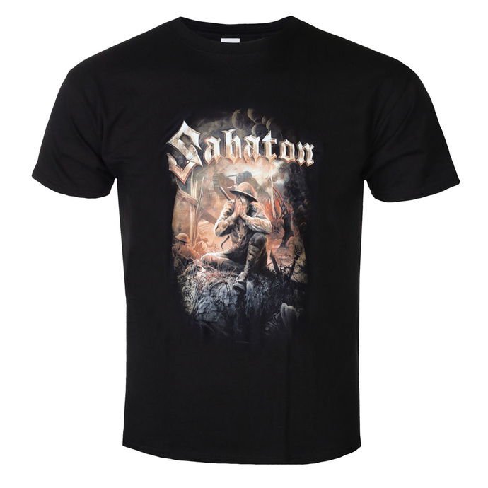Tričko metal NUCLEAR BLAST Sabaton The great war černá 3XL