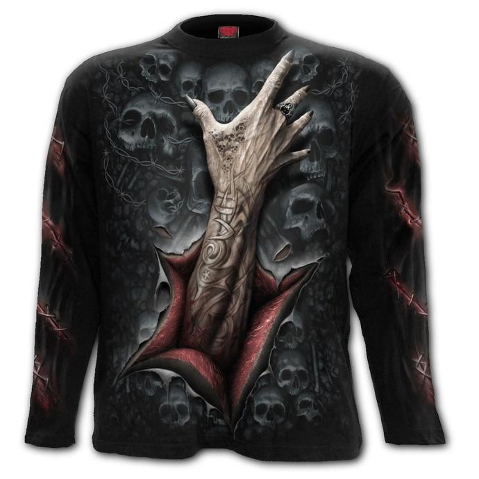 Levně tričko SPIRAL STRANGLER černá M