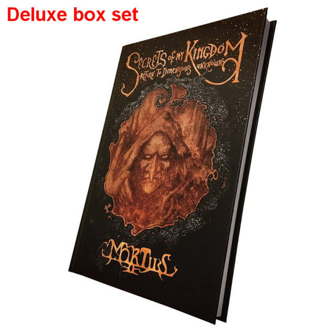 kniha (dárkový set) Mortiis: Secrets Of My Kingdom (Signed deluxe boxset) - CULT009-1