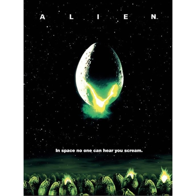 obraz PYRAMID POSTERS Alien One-sheet